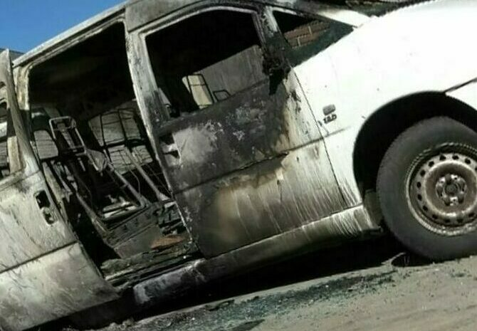 """Cathania, burned the bus of the district rugby team: """"Leave yourself from all"""""""